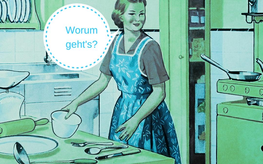 """Der """"Küchenzuruf"""": So bringen Sie Ihre Geschichte auf den Punkt"""